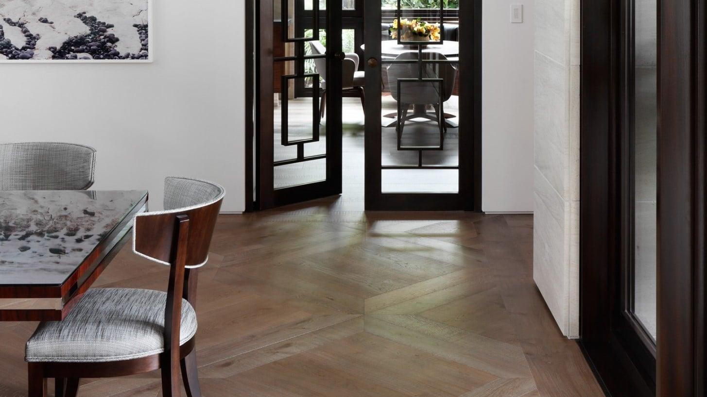 legpatronen houten vloer